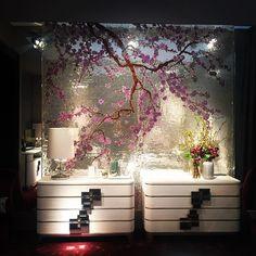 #sicis #sakura #mindenmozaik #everythingismosaic #artistic #muveszi #art #kezmuves #mozaik #mosaic #italy #ravenna #milan #isaloni @valeriagrieco: #sicismosaic#sicis#sicisart#cherryblossom#luxury#luxuryfashion#mosaic#art#fiera#milano#ravenna#london#design#art#