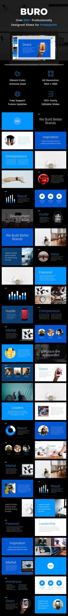 Buro Business Powerpoint Presentation Template — Powerpoint PPTX #creative #PowerPoint Maps • Download ➝ https://graphicriver.net/item/buro-business-powerpoint-presentation-template/19828734?ref=pxcr