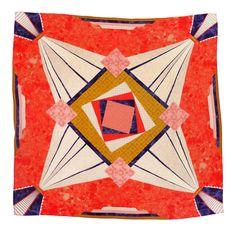 Palm' scarf by Melbourne designer Eloise Rapp.
