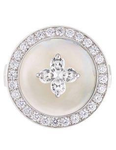 Louis Vuitton ring.