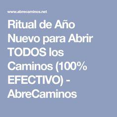Ritual de Año Nuevo para Abrir TODOS los Caminos (100% EFECTIVO) - AbreCaminos