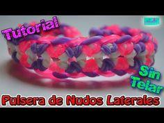 ♥ Tutorial: Pulsera Cadena de Corazones de gomitas (sin telar) ♥ - YouTube