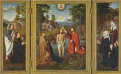 Triptych of Jan Des Trompes - Gerard David