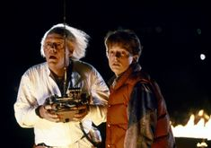 Back to the Future (1985) - Christopher Lloyd & Michael J. Fox