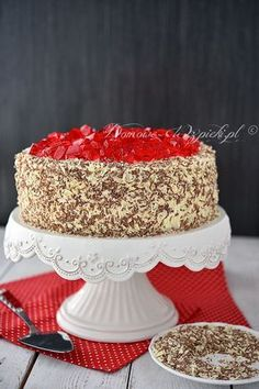 Dessert Recipes, Desserts, Cake, Food, Cream Pie, Marmalade, Pastries, Diets, Polish Language