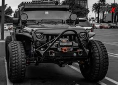 "Custom Jeep Wrangler Unlimited Rubicon JK-C ""Obsidian"" OFF-Road - ModifiedX"