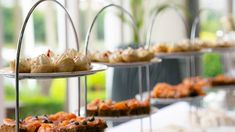 Welcome tapas and champagne for wedding guests at The 4 Star Lakeside Hotel Killaloe, co. Lakeside Hotel, Clare Ireland, Wedding Gallery, Tapas, Champagne, Weddings, Table Decorations, Star, Wedding