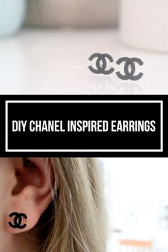 I have always loved the look of the Chanel logo, I find it elegant and simple. However, I can't afford the beautiful products, so in today's post I show how I have made my own version of the earrin…