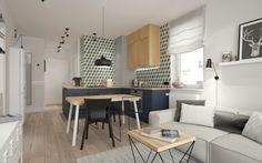 Mieszkanie projektu DOMagała design - PLN Design