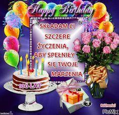 Z OKAZJI URODZIN Happy Birthday, Birthday Cake, Trans Am, Chips, Desserts, Polish, Album, Birthday, Basteln