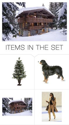 """Swiss chalet"" by delta-dxcix ❤ liked on Polyvore featuring art"