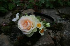 """Haarreifen """"Frühlingserwachen"""" von JulaceWest auf DaWanda.com"""