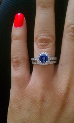 Be stylish with this beautiful tanzanite #engagementring.