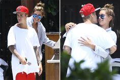 Justin Bieber and Hailey Baldwin Get Cozy During Miami Vacation