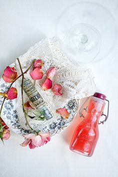 Rhubarb Blush Sour and Rhubarb syrup