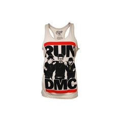 Ladies RUN DMC Vest by Chaser LA ($52) ❤ liked on Polyvore
