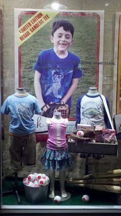 Window display at our Arizona store