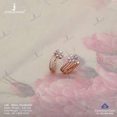 Get In Touch With us on Diamond Earrings Indian, Gold Jhumka Earrings, Indian Jewelry Earrings, Jewelry Design Earrings, Gold Earrings Designs, Diamond Jewellery, Small Earrings, Cluster Earrings, Jewelry Box