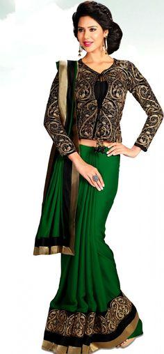 Long Length Blouse For Saree 31