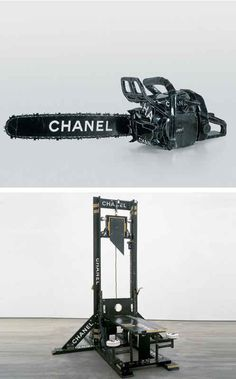 """""""Chanel Chainsaw"""" and """"Chanel Guillotine"""""""
