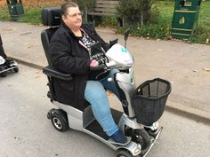 Mrs Hammond chose the Vitess 2 mobility scooter find out which is right for you & get your demo here http://contact.quingoscooters.com/social-mobility-scooters