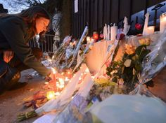 In front of a consulate of France in Switzerland, November 14.  (Laurent Gillieron / AP / SIPA)