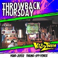 a #kidzturnthrowback Thursday. year: 2002 theme: Spy Force #throwbackthursday #tbt #tb #kidmin