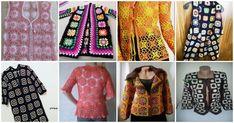 Yaz boyunca moda olan motifli kadın yelek, hırka örgü modelleri ile karşınızdayız. Tarz sahibi olmak isteyen hanımların en çok tercih ettiği örgüler ile Knit Vest Pattern, Poncho, Cardigan Fashion, Crochet, Knitting Patterns, Ideias Fashion, Dresses With Sleeves, Long Sleeve, Tops