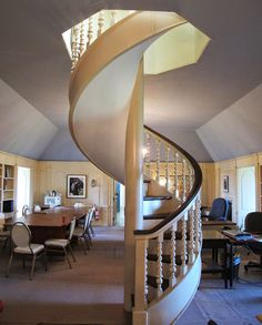 1000 images about hand rail ideas on pinterest old for Big houses inside