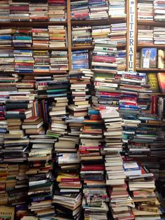 Pickwick Book Shop in Nyack, New York - Or heaven.Once again, somebody stole a photo of my book collection. I Love Books, Books To Read, My Books, Pile Of Books, Book Aesthetic, Book Nooks, Library Books, Book Of Life, Love Reading