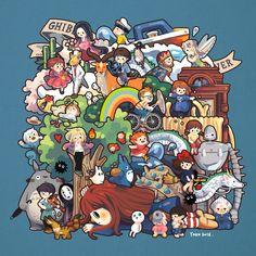 Ghibli Forever ^^ #FanArtGhibli