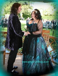 A simple corset and skirt, but made from a beautifully hand painted silk, turning this new design into a walking piece of art! Painted Silk, Hand Painted, Turquoise Wedding Dresses, Gorgeous Fabrics, Fishtail, Looking Stunning, Green And Purple, Skirt Fashion, Turning