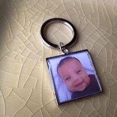 Custom Silver Keychain by MeJImages on Etsy, $19.99