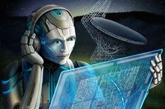 Our Solar System SETI's new Neura. - SETI's new Neural Network detects many more Fast Radio Bursts from a faaaar away Galaxy. Breakthrough Listen researchers used artificial intelligence to search through radio signals recorded from a… Radios, Search For Extraterrestrial Intelligence, Radio Astronomy, Million Stars, Neutron Star, Planetary Science, Space Facts, Technology World, Technology News