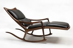 Fancy - Rocking Lounge Chair by Sam Maloof