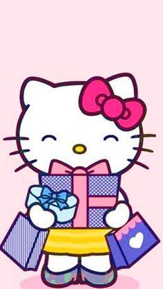 iPhone 壁纸 可爱 Hello Kitty