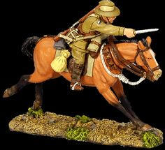 A classic image of the Lighthorseman........ bayonet pointing towards the enemy    Australian Light Horse King & Country producers of all-metal, hand-painted 1:30 scale 60mm Collectible toy soldiers, military miniatures and civilian toy soldier figures.