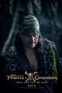 *WILL TURNER (Orlando Bloom) ~ PIRATES OF THE CARIBBEAN: Dead Men Tell No Tales, 2017