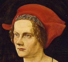 Breu, Jorg the Elder (1475-1537) - 1500-05 Portrait of Agnes Breu