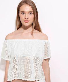 T-shirt croché - T-SHIRT.