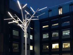 éclairage jardin design Albero- arbre lumineux simili sculpture contemporaine