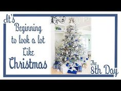 It's Beginning To Look A Lot Like Christmas | Christmas Tree Decorating - YouTube