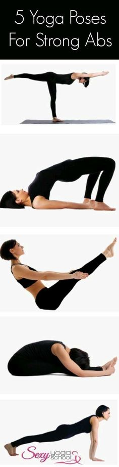 DownDog Yoga for Fun & Fitness: 5 Yoga Poses for Strong Abs. From the Downdog Di… - Fitness Fitness Workouts, Yoga Fitness, Fun Fitness, Fun Workouts, Fitness Motivation, Fitness Band, Fitness Studio, Fitness Gear, Fitness Quotes