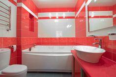 Яркий и не дорогой дизайн для вашей ванной комнаты. #дизайн_ванной #не_дорогой_дизайн_ванной #яркая_ванная_комната