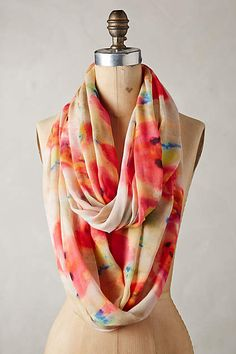 Water Gardens Infinity Scarf - anthropologie.com