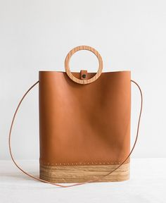 Wood Tote by GRAV GRAV
