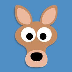 donkey face mask template - masketeers printable masks printable hamster mask
