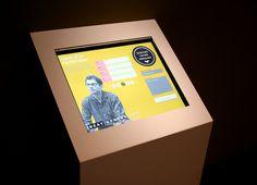 """Le livre d'or numérique de l'expo """"Beat Generation / Allen Ginsberg"""", aux Champs Libres (Rennes)."""