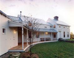 "oldfarmhouse: ""❖Vermont Colonial Farmhouse Via TRUMBULL ARCHITECTS.com """