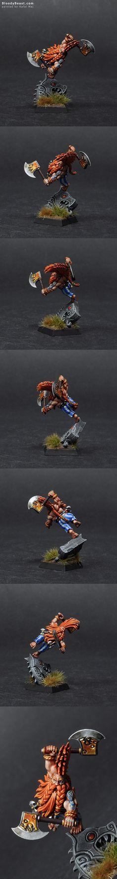 Dwarf Dragon Slayer #warhammer